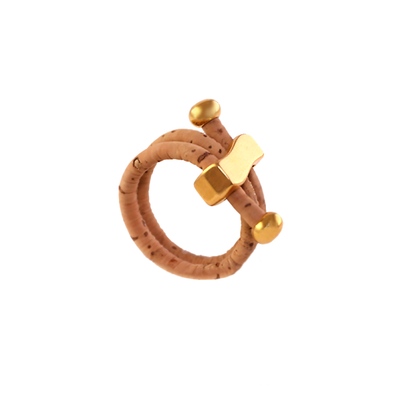 Wave Cork Cord Ring